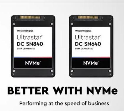 Western Digital SN640 и SN840 – идеални NVMe SSD решения за корпоративни потребители