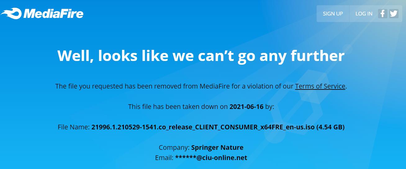 Windows 11 Mediafire