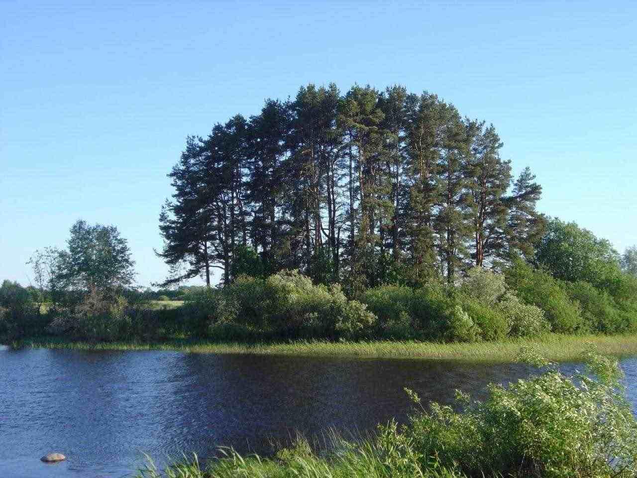 Мястото в днешна Латвия, където е открит RV 2039