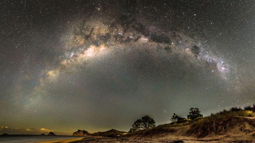 Най-доброто място за търсене на извънземни цивилизации е центърът на Млечния път