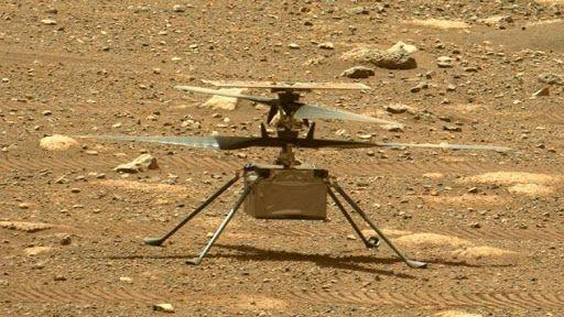 Марсианският дрон Ingenuity извърши своя девети полет на разстояние рекордните 625 метра