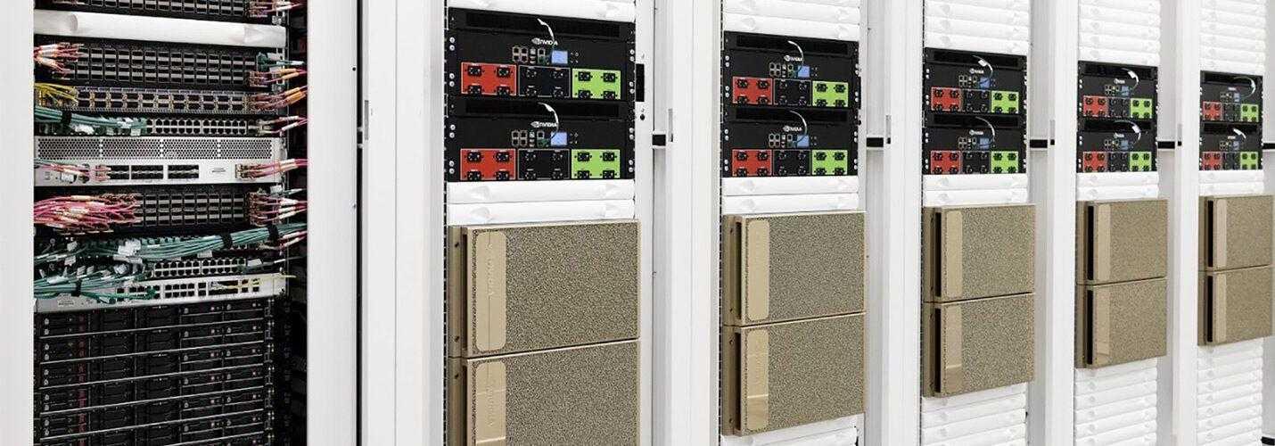 Nvidia представи своя нов суперкомпютър