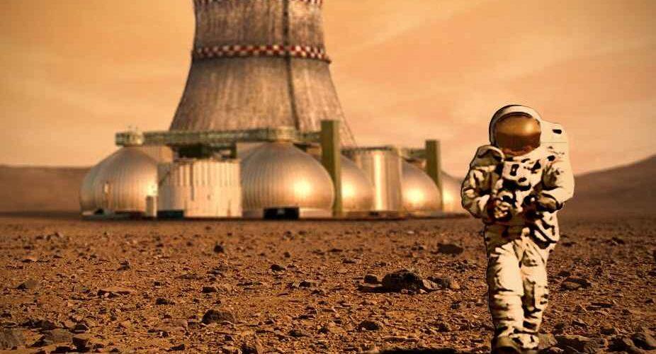 Роскосмос иска да строи ядрена електроцентрала на Марс