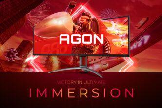 """AOC представи извитите 49"""" монитори AGON AG493UCX2 и AG493QCX"""