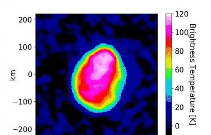 С голяма точност е измерена е температурата на астероида Психея, който е съставен от метали за 10¹⁹ долара