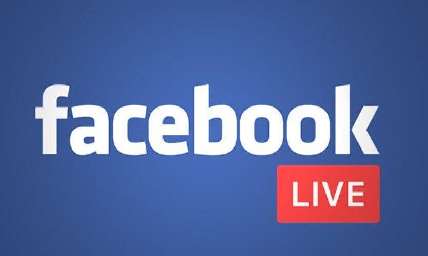 facebook на живо