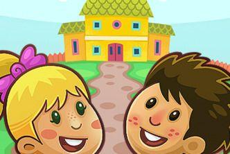 Kiddos in Kindergarten - Free Games for Kids