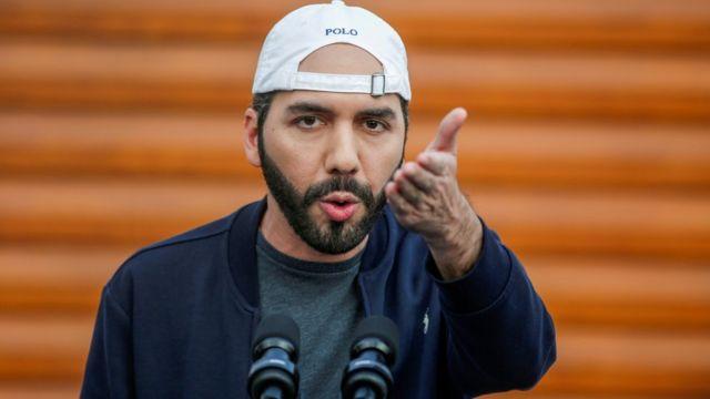 Снимка на президента на Ел Салвадор.