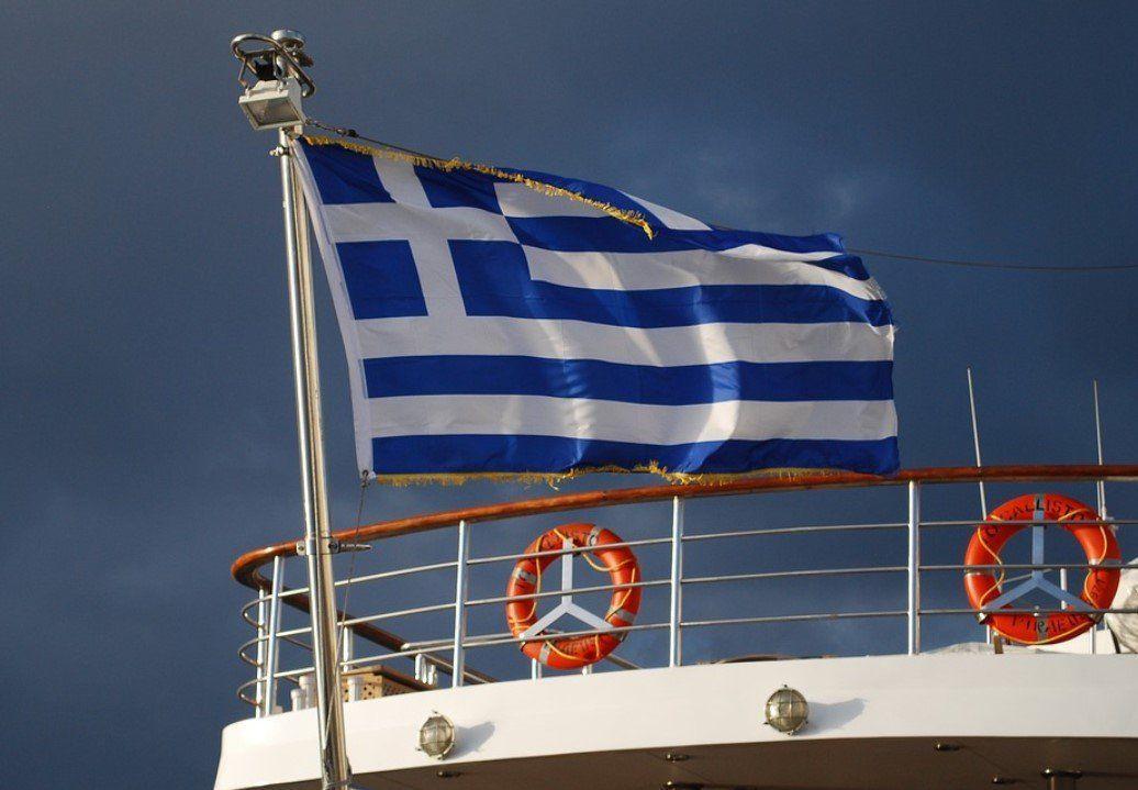 гръцко знаме