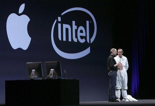 Intel ще изгуби значителна част от процесорния пазар след като Apple започне да използва собствените си фирмени чипове