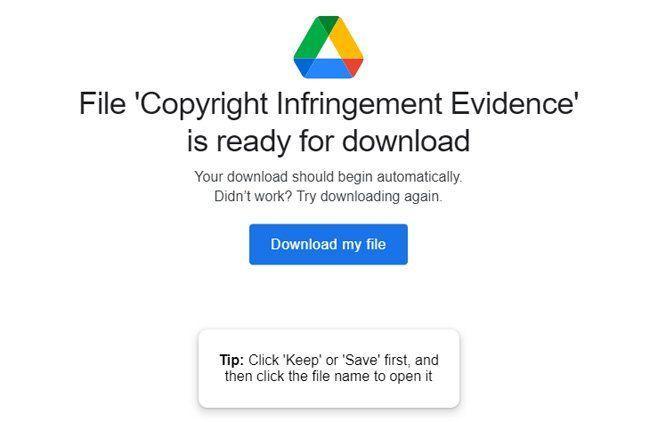 пакет за нарушаване на авторски права