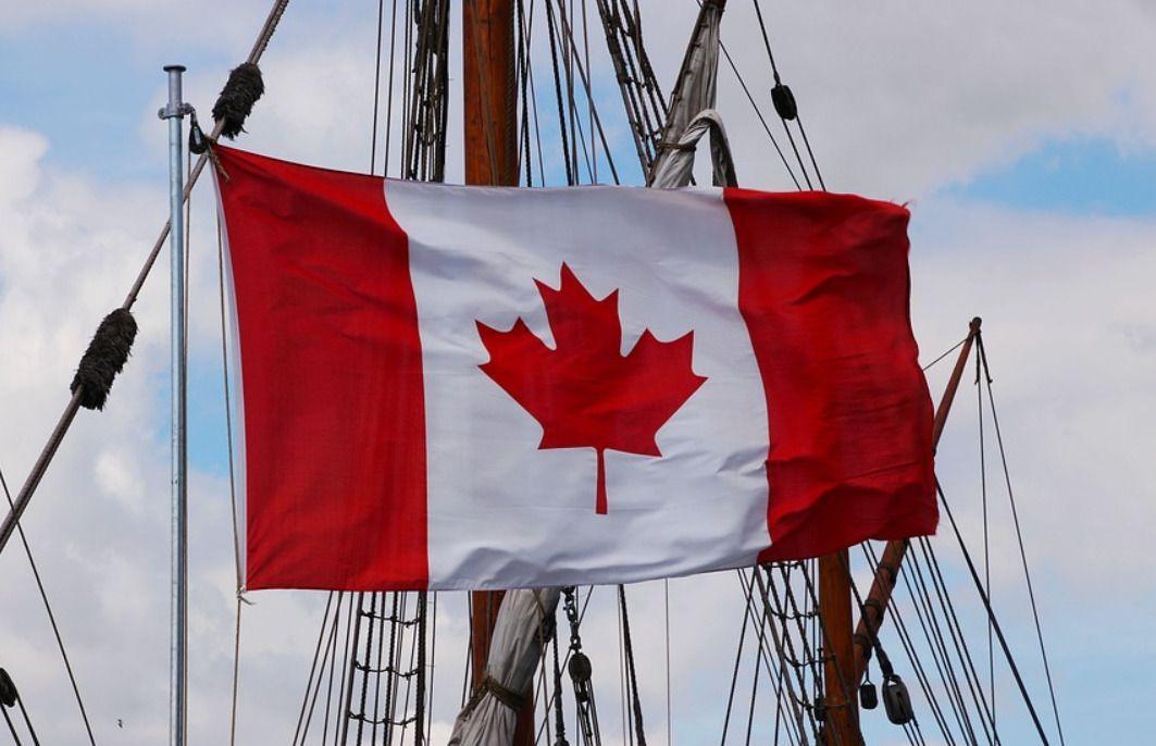 знаме на Канада