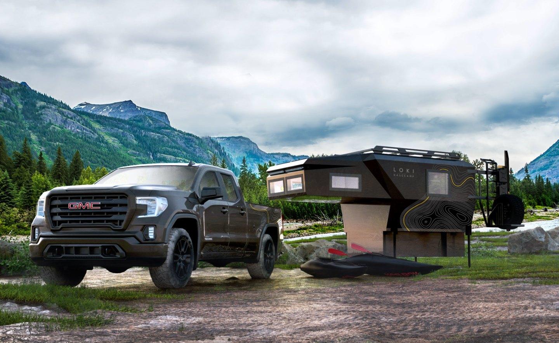 Loki Basecamp Falcon може да се използва и като самостоятелен подслон, освобождавайки камиона да пътува без тежестта и насипно състояние на кемпер