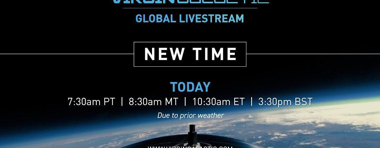 На живо: Първият космически полет на Virgin Galactic със сър Ричард Брансън