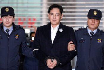 Наследникът на Samsung Джей Й. Лий се връща в затвора