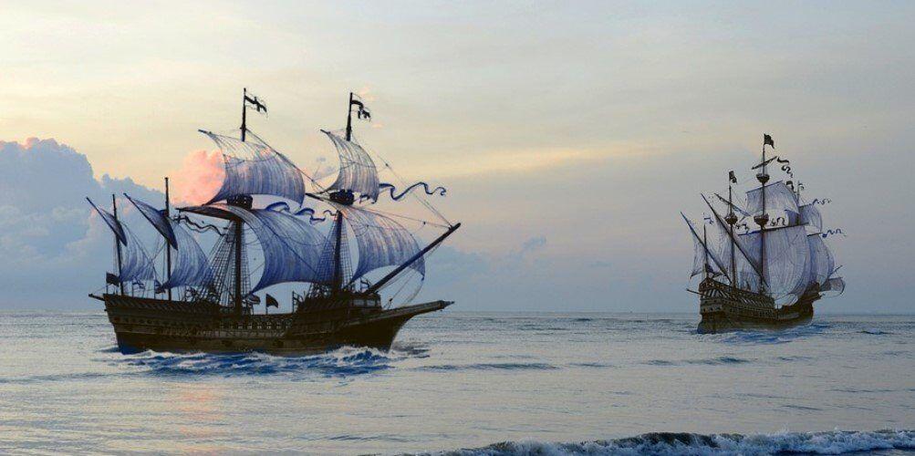 стари кораби военноморски пират