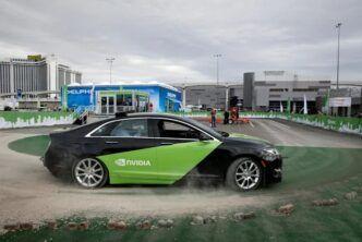 Процесорът Nvidia DRIVE Atlan за безпилотни автомобили обработва квадрилион операции в секунда