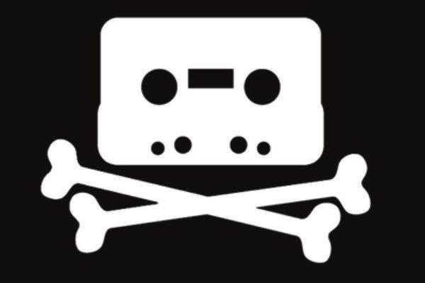 касета пиратска музика
