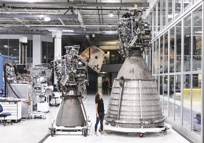 SpaceX проведе първите тестове на вакуумната версия на ракетния двигател Raptor